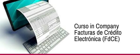Curso in Company Facturas de Crédito Electrónica (FdCE)