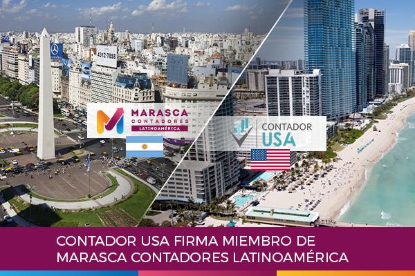 Contador usa firma miembro de Marasca Contadores Latinoamérica