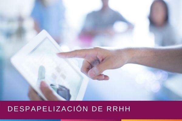Despapelización de RRHH