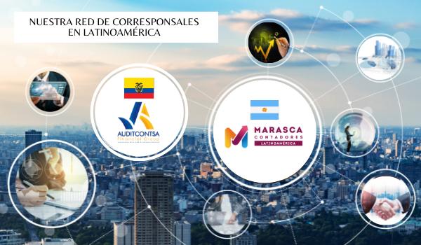 Red de corresponsales ARGENTINA – ECUADOR