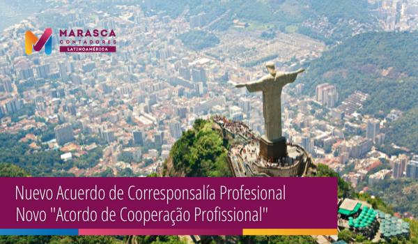 Nuevo Acuerdo de Corresponsalía Profesional.
